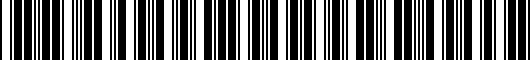 Barcode for PT92489100DD