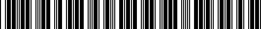 Barcode for PT93842130AB