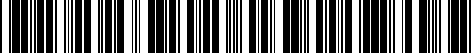 Barcode for PTS053404DMW