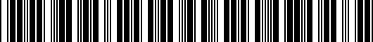 Barcode for PTS053505DRF