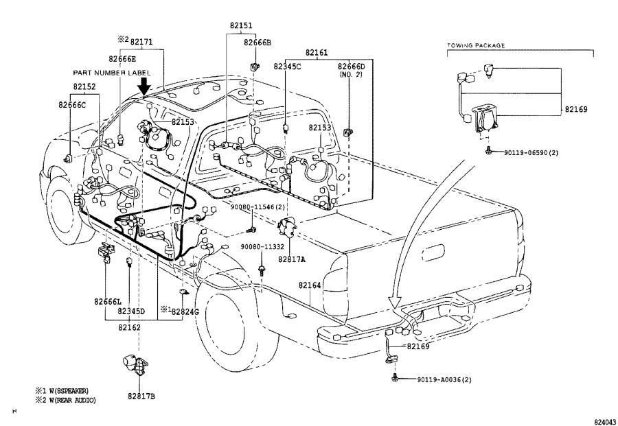 Toyota Tundra Fuse  Engine Room Fusible Link  Fusible Link